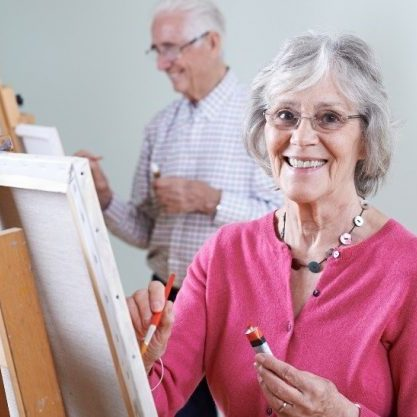 the connection between the arts and healthy aging