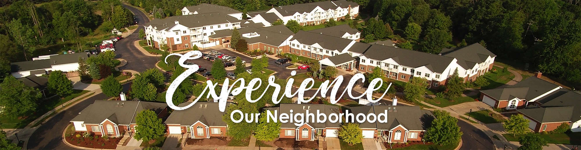 Experience our neighborhood at Silver Maples
